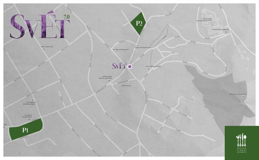 SVÉT 7.0 térkép